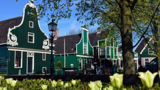 Buildings in the Zaanse Schans