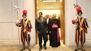 این خبر پس از بازدید آقای مادورو از واتیکان اعلام شد