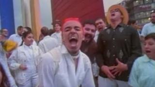 """Captura de pantalla del video de """"La Ingrata"""""""