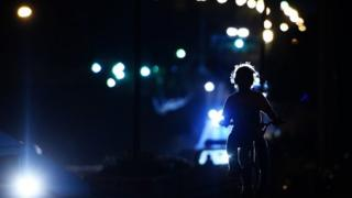 Child on a bicycle (file photo)