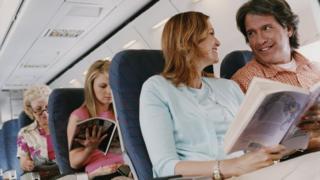 uçak yolcuları