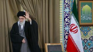 رهبر ایران در مشهد