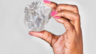 The 1,111 carat stone recovered from Lucara's Karowe mine