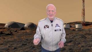 Buzz Aldrin en VR Mars