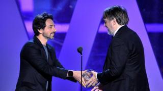Sergey Brin and John Hardy