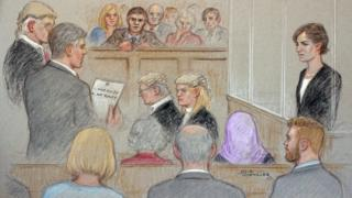 The jury deliver their verdict in The Archers