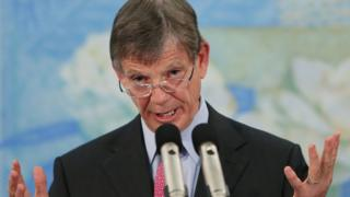 Reserve Bank Governor Graeme Wheeler speaks in New Zealand