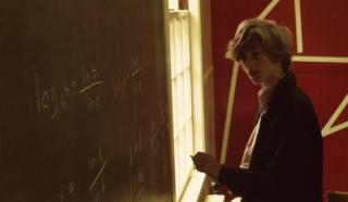 Bill Gates during maths studies