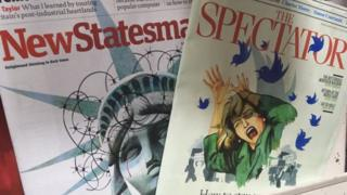 New statesman and Spectator