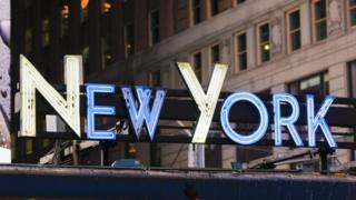 New York sign