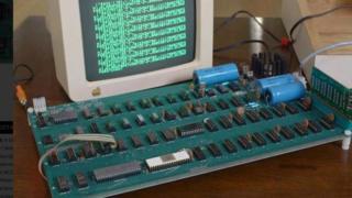 Apple 1 computer motherboard