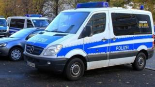 German police vehicle (file pic)