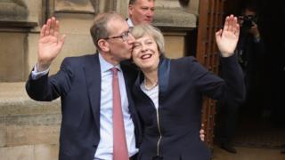Philip and Theresa May