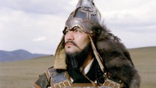 Actor playing Genghis Khan in BBC 2004 production