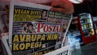 تیتر ضدهلندی روزنامه ترکیه ای
