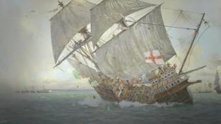Buque de Mary Rose