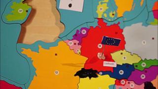 EU jigsaw map