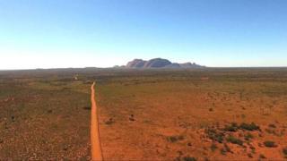 The Aṉangu Pitjantjatjara Yankunytjatjara area, in South Australia's remote north