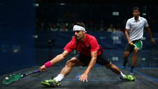 Jogador de squash