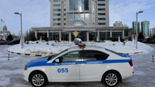 A view of Astana's Rixos President Hotel, the place that will host Syria peace talks in Kazakhstan (22 January 2017)