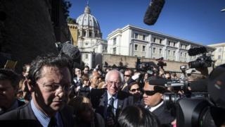 Pope Francis: Sanders meeting 'not political meddling'