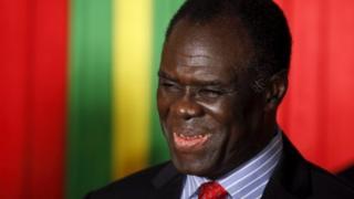 Burkinabe interim President Michel Kafando - 23 September 2015