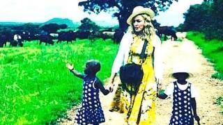 Мадонна и дети