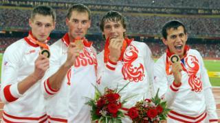 Денис Алексеев, Антон Кокорин, Владислав Фролов и Максим Дылдин (слева направо)