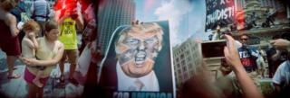 Republican National Convention in Cleveland, Ohio, July 2016