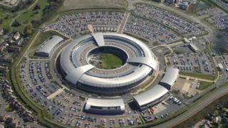 GCHQ headquarters in Cheltenham