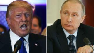 دونالد ترامپ، ولادیمیر پوتین