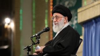 آیتالله علی خامنهای، رهبر ایران