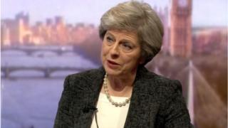 Theresa May on Marr show