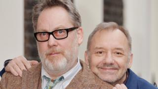 Vic Reeves (left) and Bob Mortimer