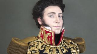 Gran Mariscal Don Juan Bautista Elespuru y Montes de Oca, self portrait 2014