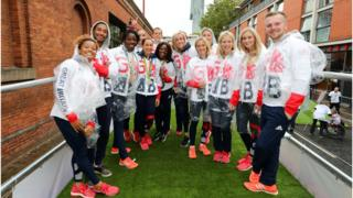 Rio 2016: Manchester parade for Olympic and Paralympic ...
