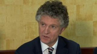 Jonathan Powell was at the launch of the Loyalist Communities Council