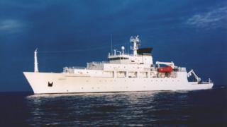 مقامهای آمریکایی میگویند کشتی ان.اس بودیچ کشتی تجسسی و تحقیقاتی آمریکا در منطقه دریای جنوبی چین است