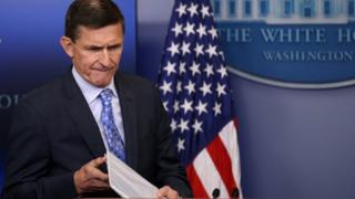 Donald Trump's national security adviser, Michael Flynn