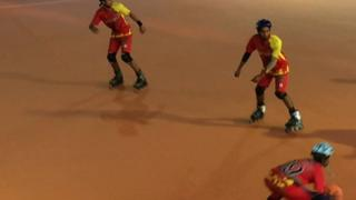 চল্লিশটি দেশের অংশগ্রহণে ঢাকায় চলছে রোলবল বিশ্বকাপ