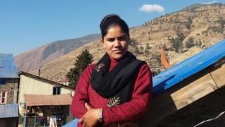 Krishnamaya in Kutari village