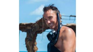 Canadian film-maker Rob Stewart