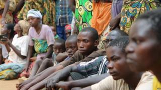 Burundian refugees in Rwanda