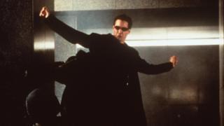 Keanu Reeves in The Matrix