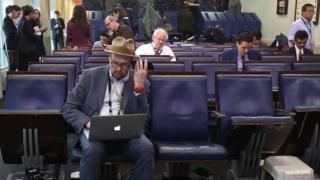 اتاق کنفرانس کاخ سفید