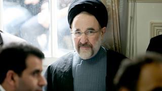 """رئیس جمهور پیشین ایران گفته زمینه آشتی ملی باید از سوی """"حاکمان"""" فراهم شود"""