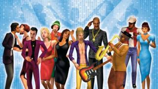 positive people the-sims-game-characters.