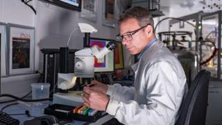 environment scientist-making-plastic-breaking-down-enzyme.