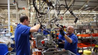 UK industry returns to recession