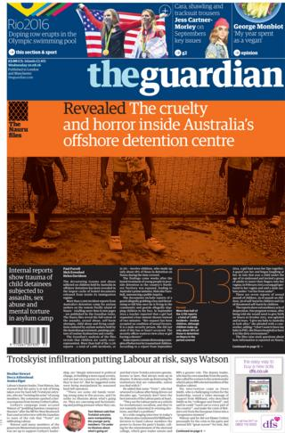 the guardian reaction paper The guardian (2006) quotes on imdb: memorable quotes and exchanges from movies, tv series and  jake fischer: you do not want to hear about my day.